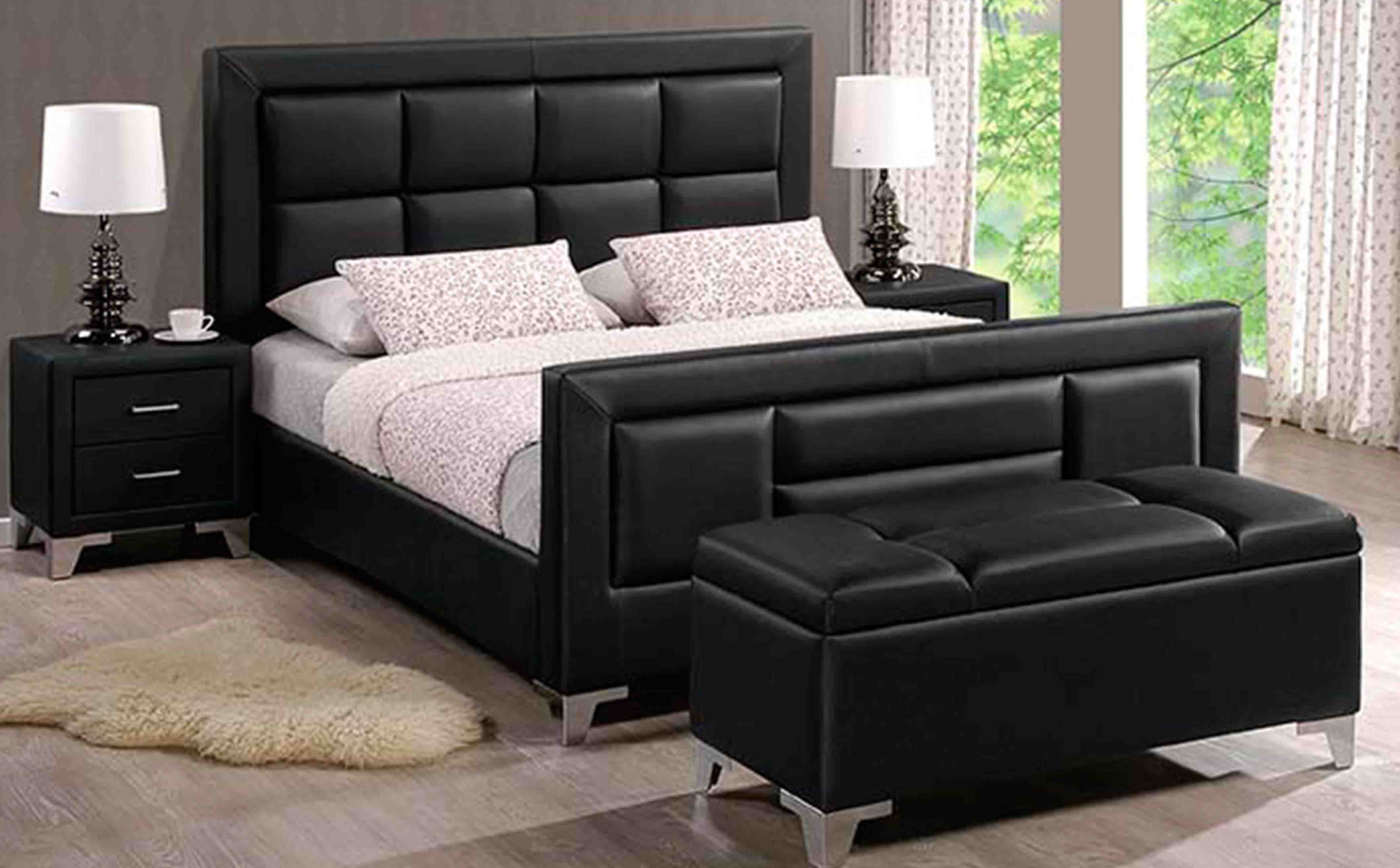 Leather Bedroom Suite Products Bedrooms
