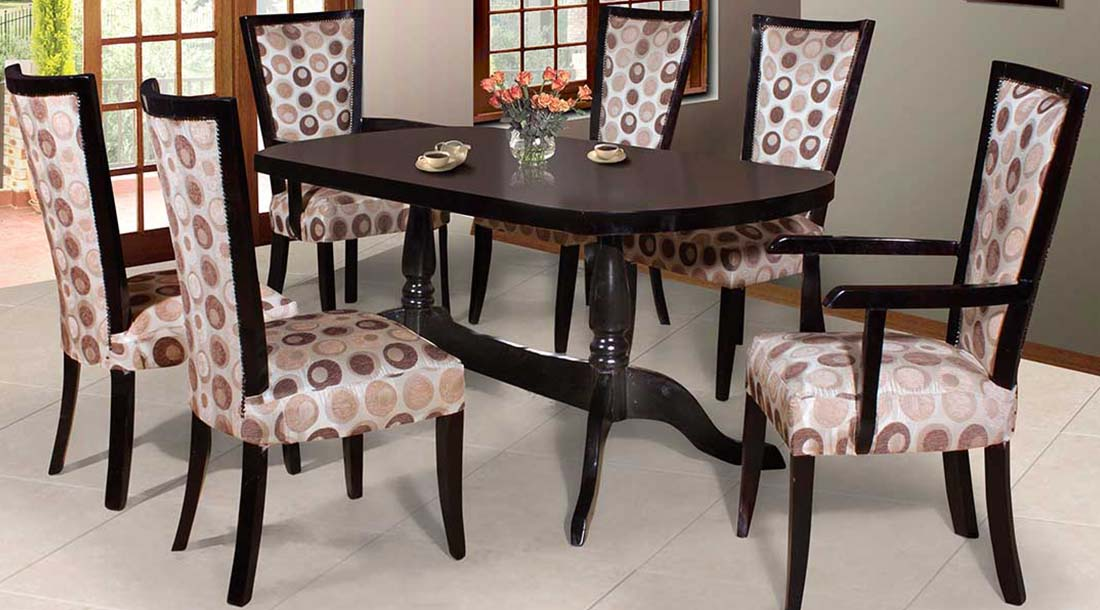 Estrada 7pce dining room dining room suites for sale in for Dining room suites for sale