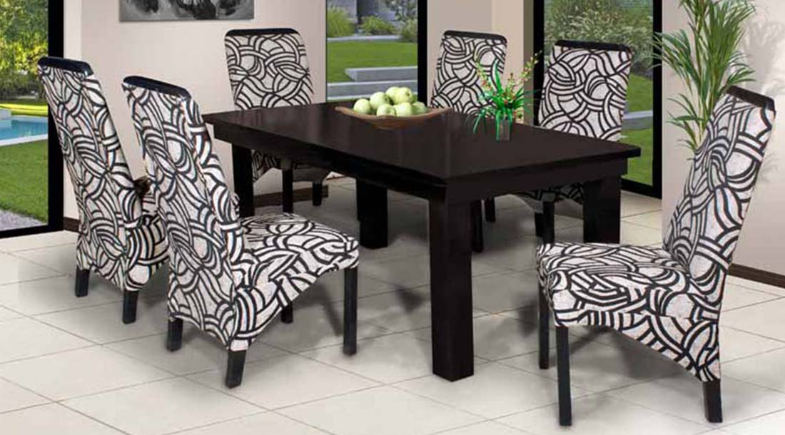Lacy 7 Pce Dining Set