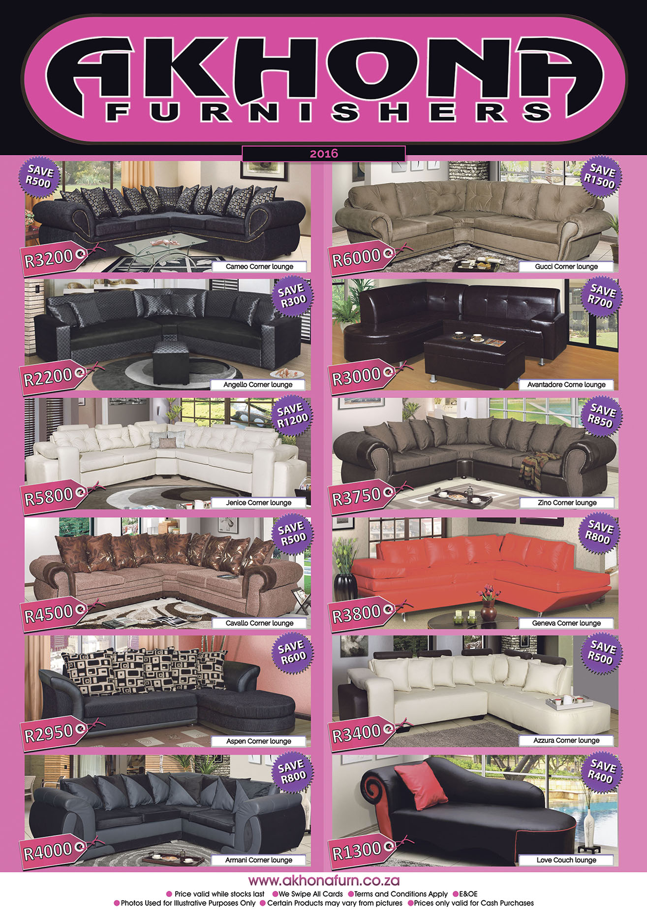 Akhona Furniture Shop Products Akhona Furnishers